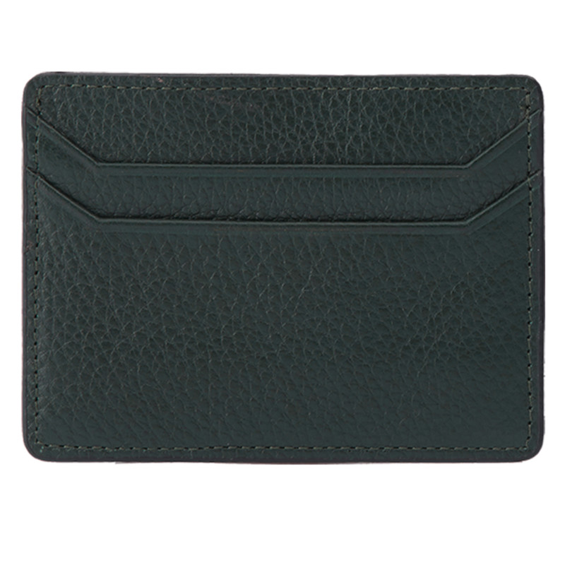 Green Front Card Holder