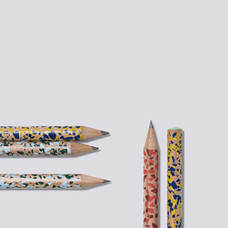Splatter Print Pencils