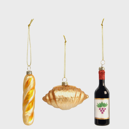 French Trio Decorations
