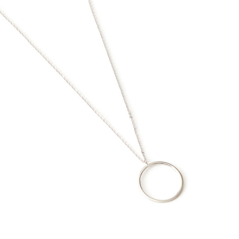 pendant jewelry silver sterling ed circle necklace eternal co perettieternal peretti necklaces pendants in elsa tiffany small
