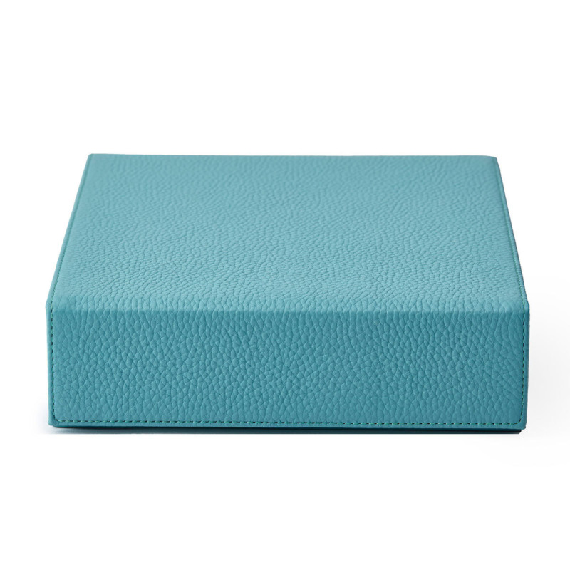 Personalised Jewellery Box Turquoise Leather Jewellery Box Not Another Bill