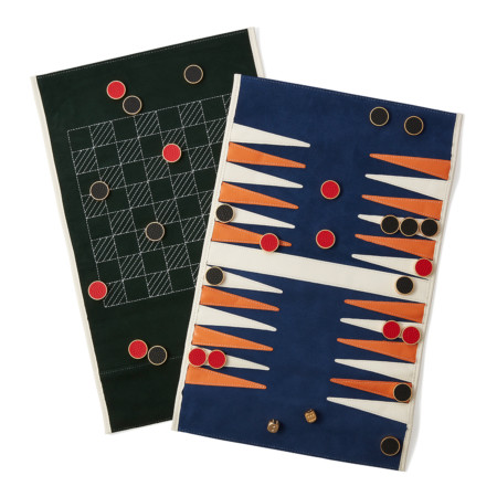 2in1 Backgammon/Drafts Roll