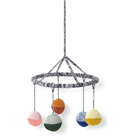 Knitted Hanging Mobile