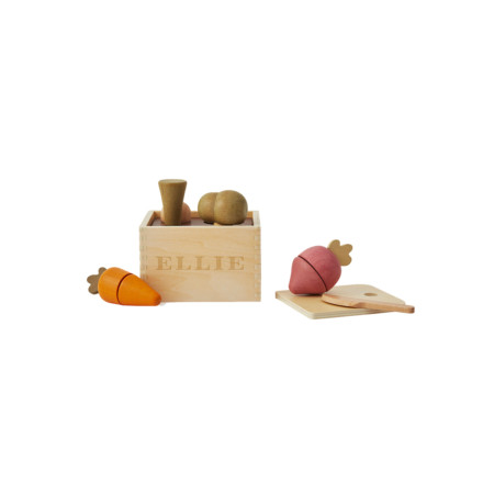 Wooden Plant Box Toy