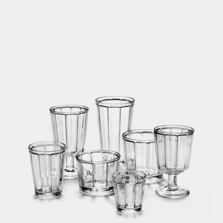 Tumbler and Wine Glasses
