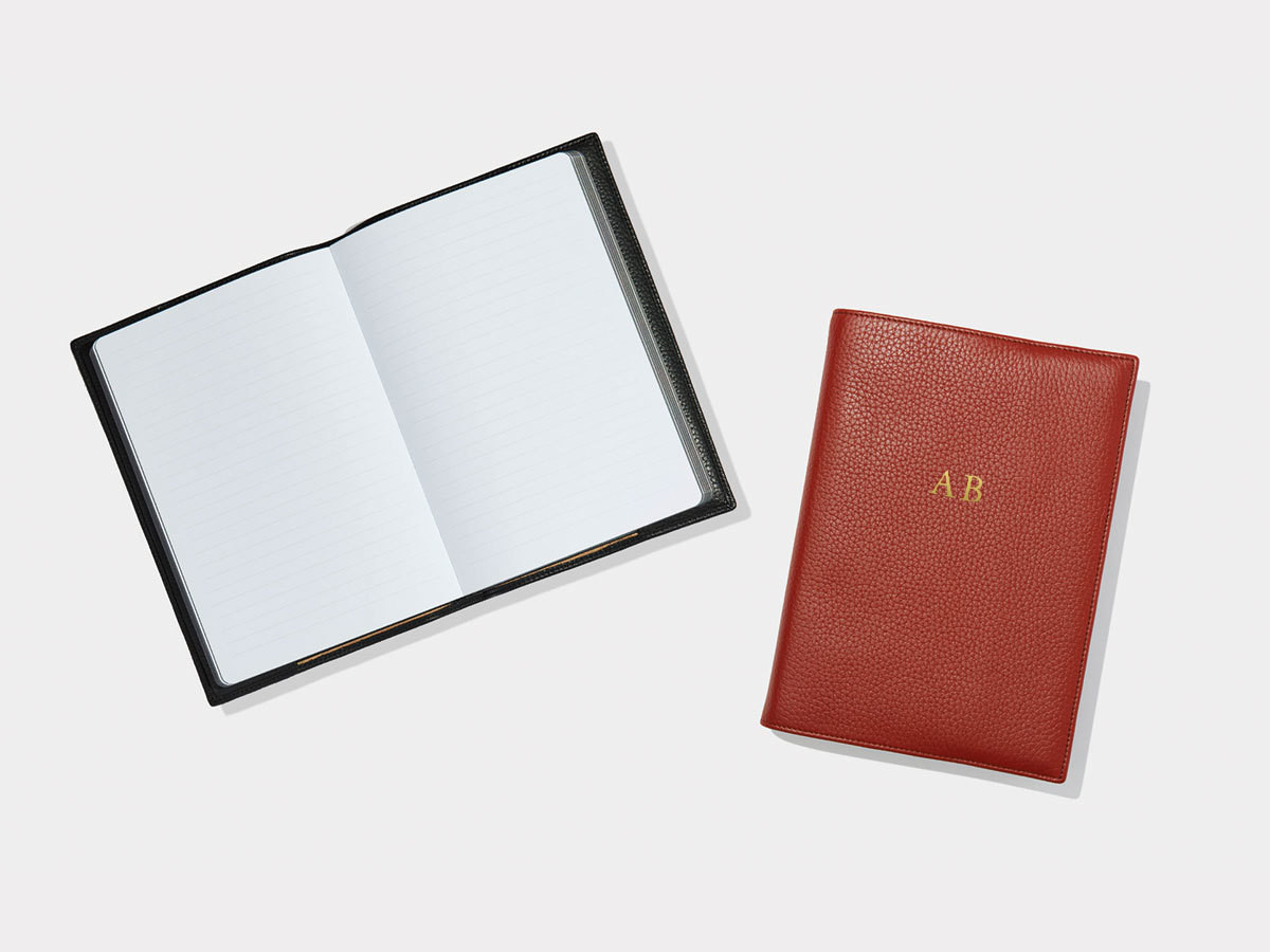 3. LEATHER NOTEBOOK COVER
