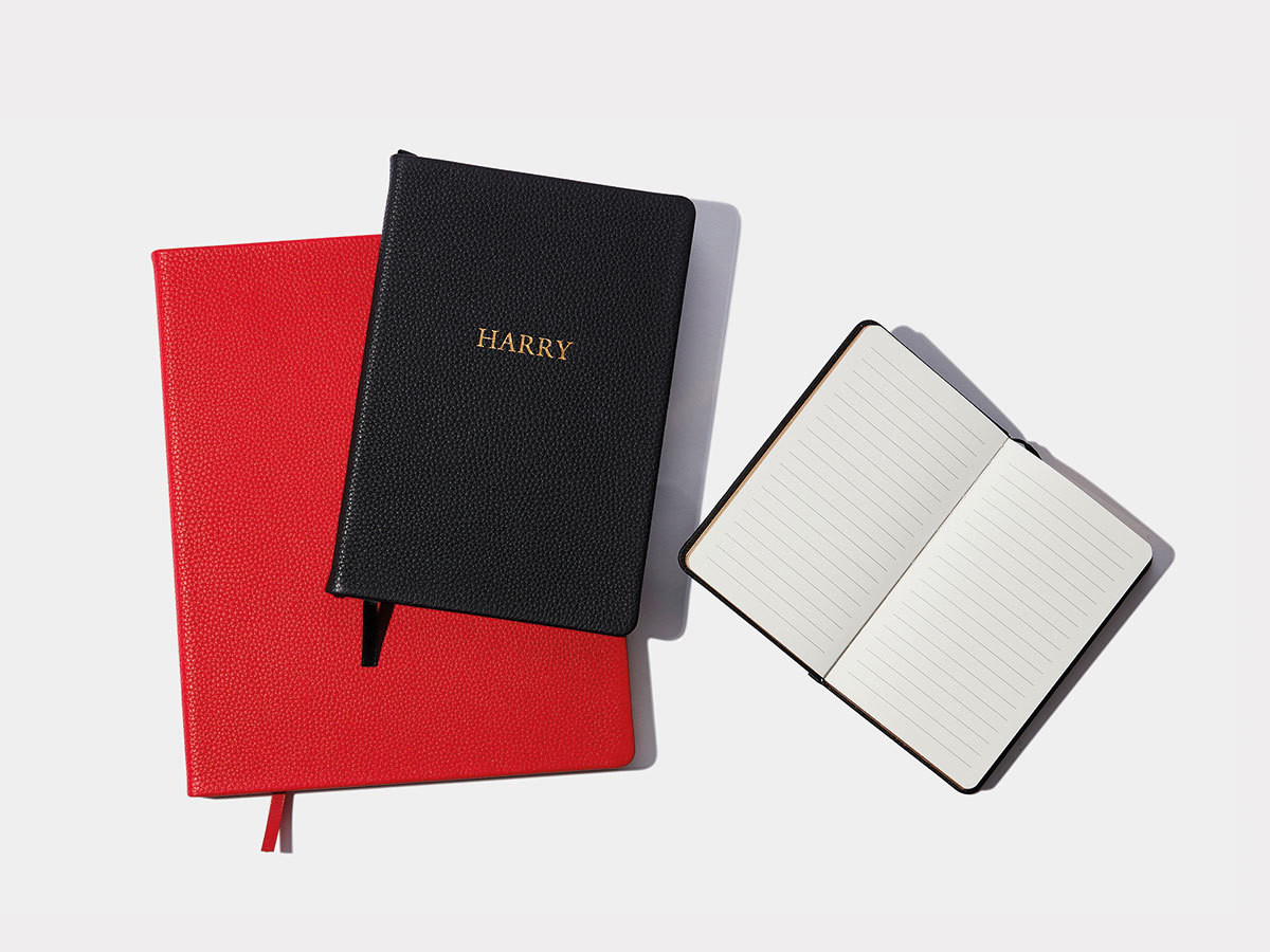 5. LEATHER NOTEBOOKS
