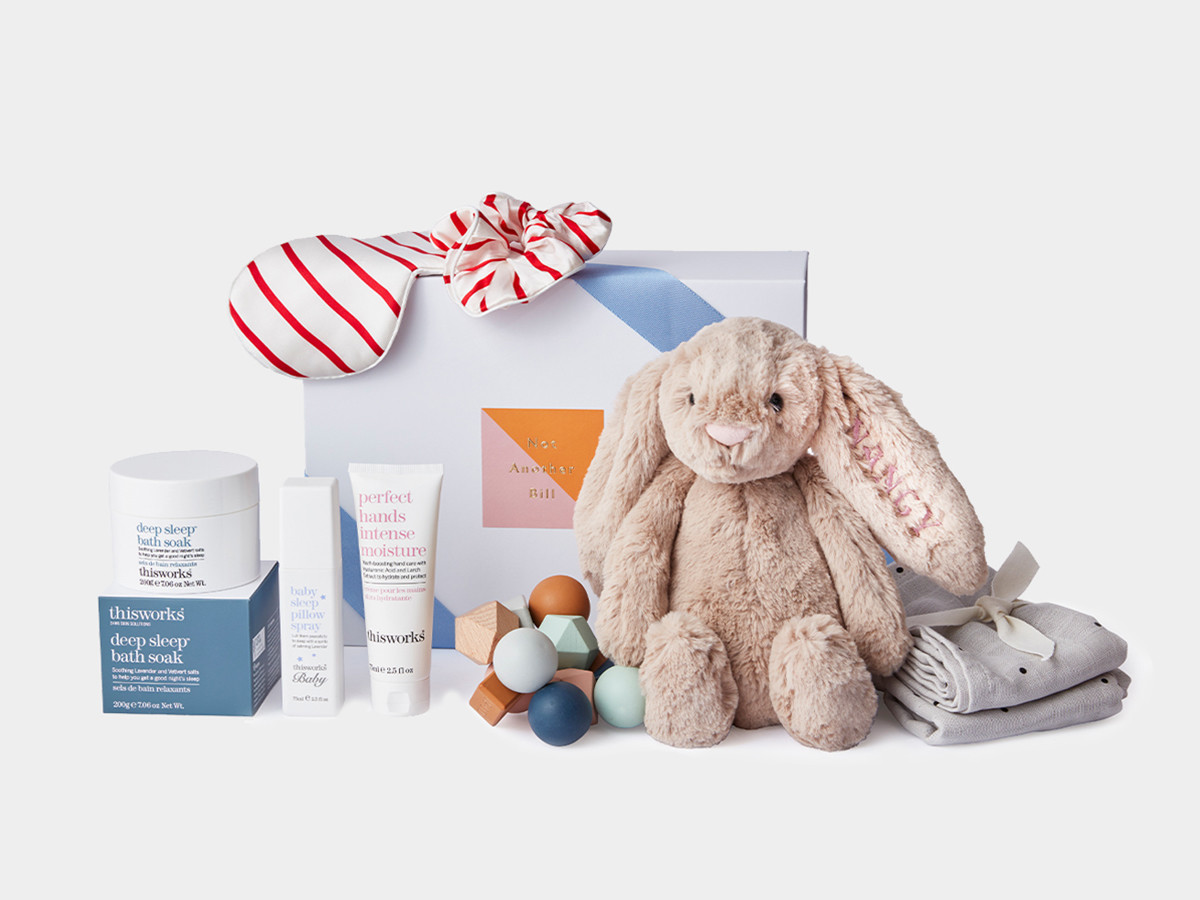1. THE ULTIMATE NEW BABY HAMPER