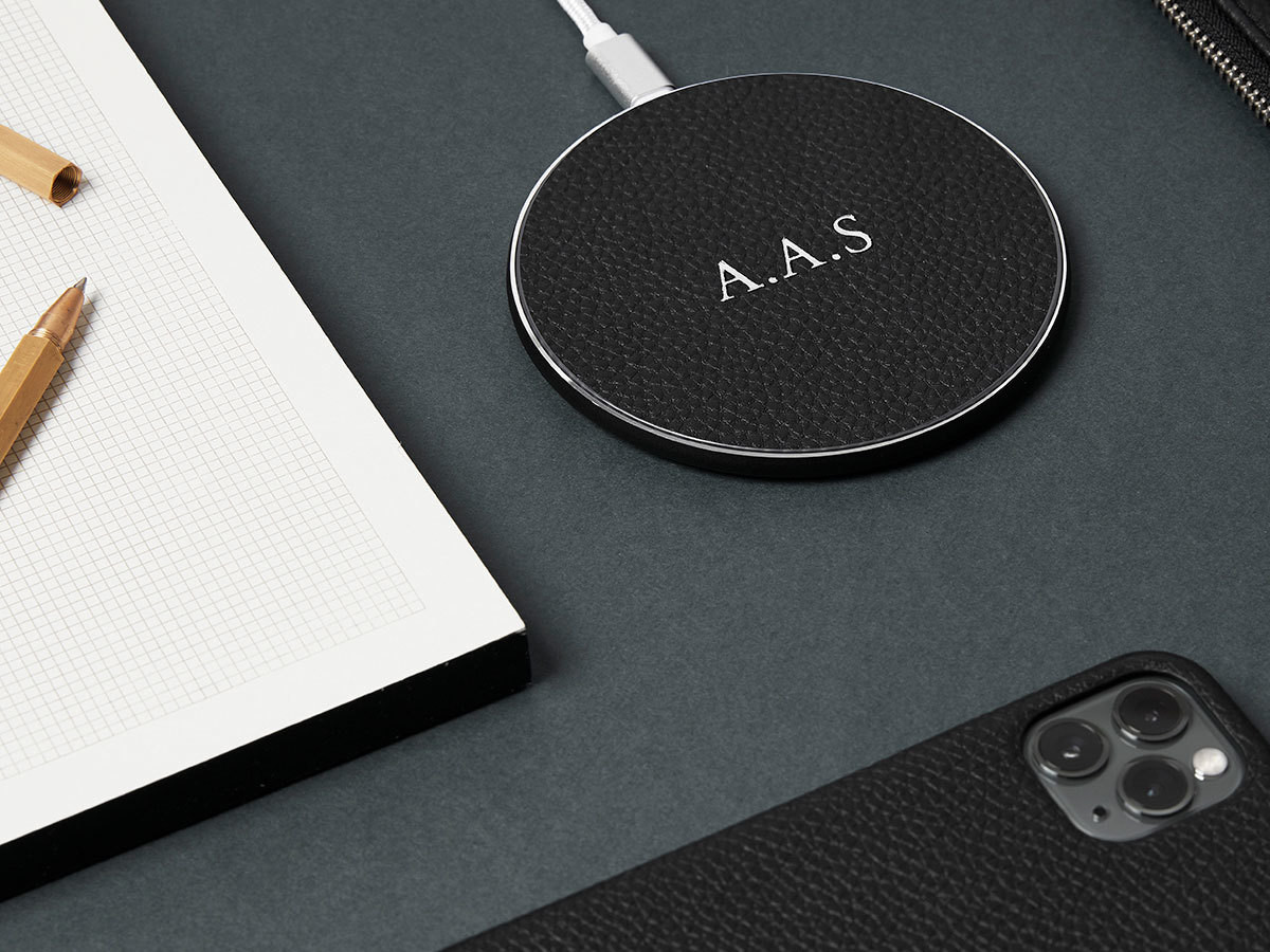 8. LEATHER WIRELESS CHARGER